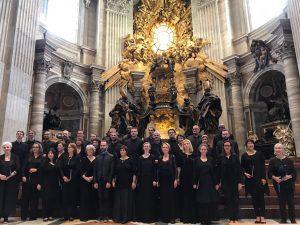 Les chanteurs en voyage à Rome !