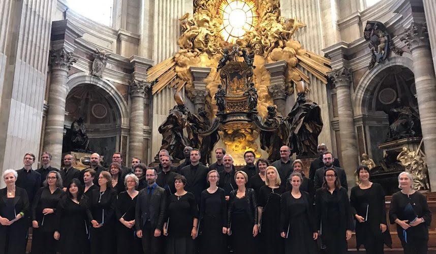 Les chanteurs de Saint-Eustache en voyage à Rome !