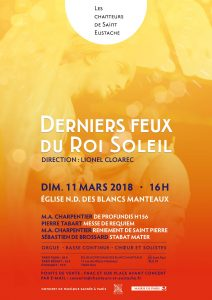 """Concert """"Les derniers feux du Roi Soleil"""""""