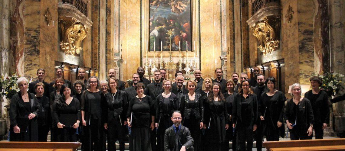 Les chanteurs de Saint-Eustache à Florence et à Sienne en mai prochain