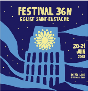 Les chanteurs participent aux 36h de Saint-Eustache